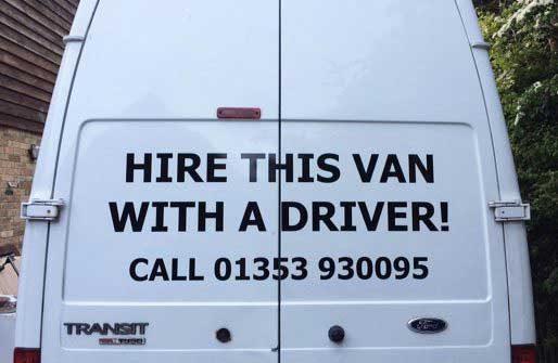 Hire a Man with a Van