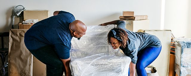 tips for packing and moving home