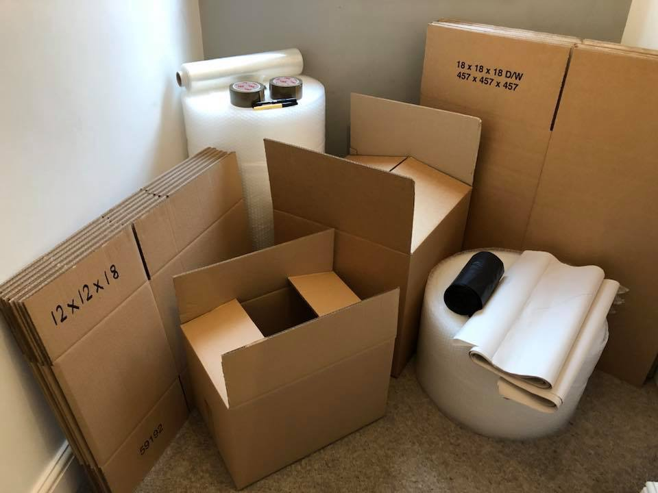 packaging supplies for moving house