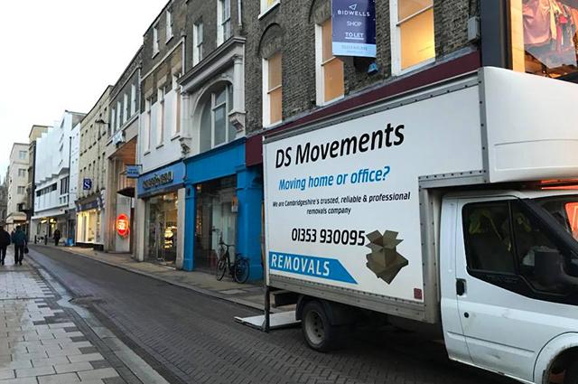man and van deliveries